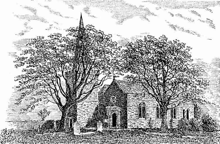 All Saints Church - 1890