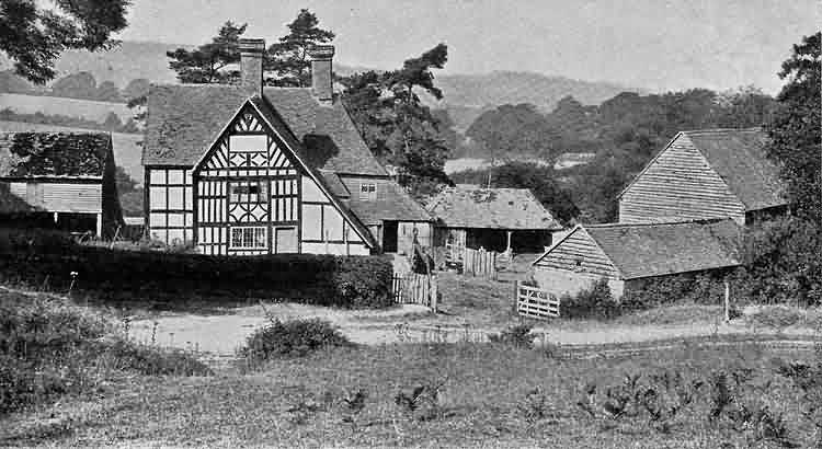 Lye Green Farm - 1903