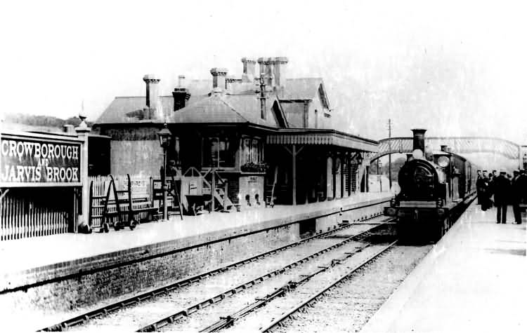 Crowborough and Jarvis Brook Station - c 1930