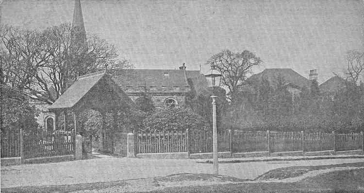 All Saints Church - c 1910