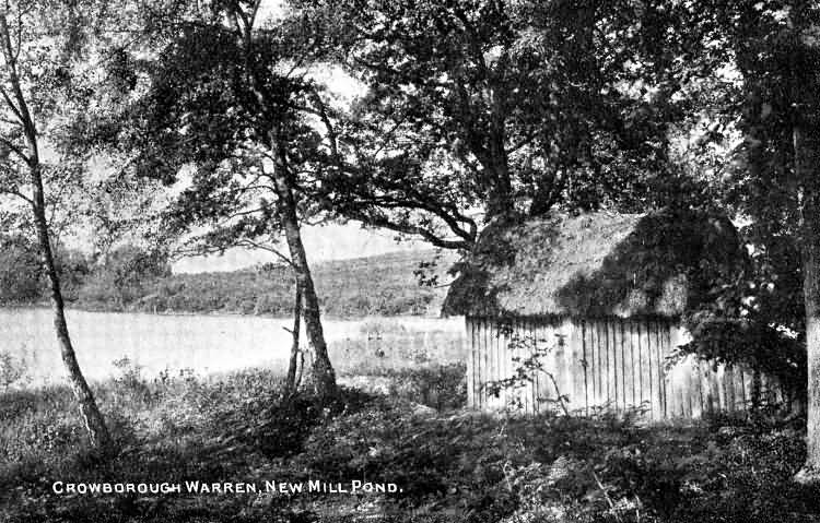 New Mill Pond, Warren - 1910