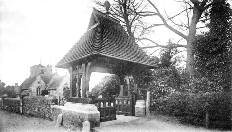 Lych Gate and Church - 1910