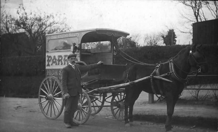 The Parris Pony and Trap - c 1905