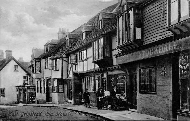 Old Houses, High Street - 1911