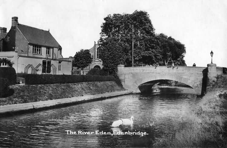 The River Eden - 1920