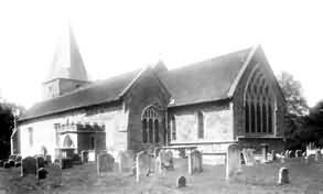 Buxted Park, Church - 1902