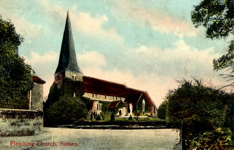 Fletching Church - 1908