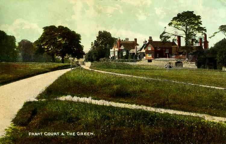 Frant Court and The Green - 1907
