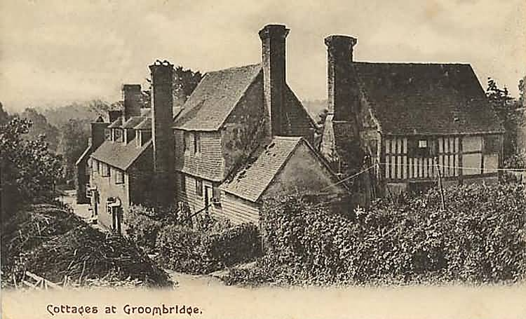 Groombridge Cottages - 1906