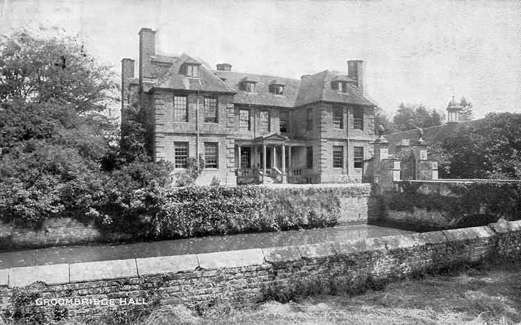 Groombridge Hall - 1908