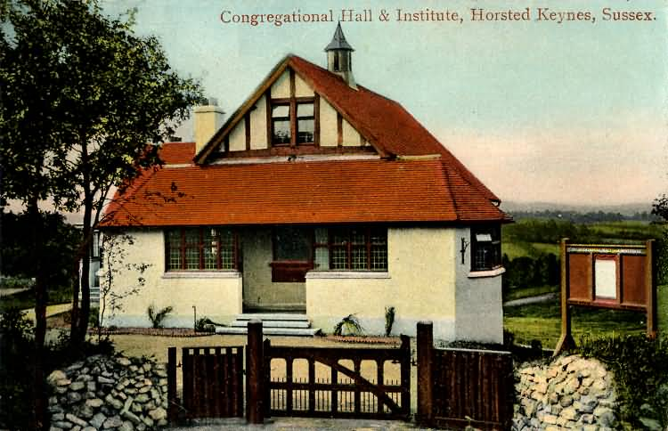 Congregational Hall & Institute - 1907