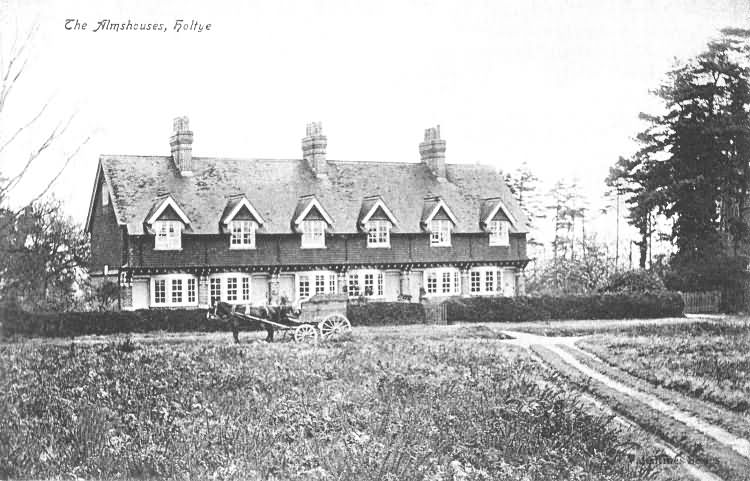 The Almshouse, Holtye - c 1900