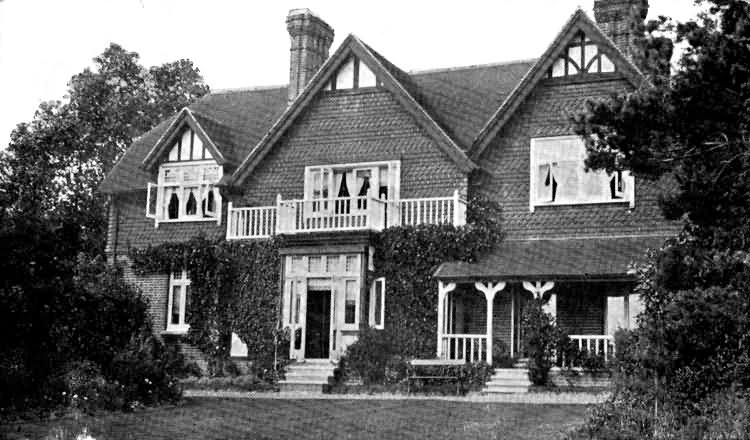 Buxted Lodge - 1906