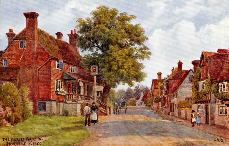 The Dorset Arms Inn - c 1910