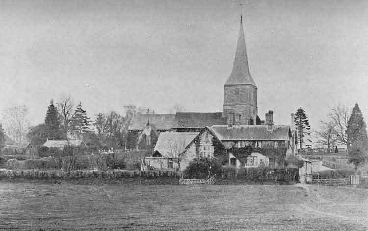 Hartfield Church - c 1900