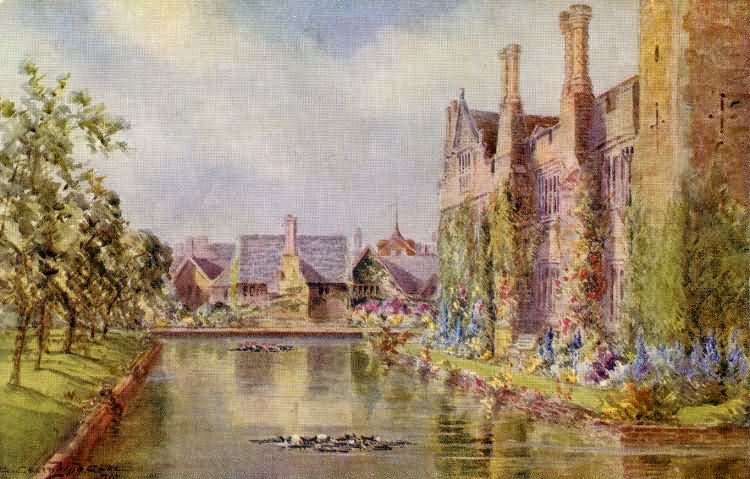 West View, Hever Castle - 1904