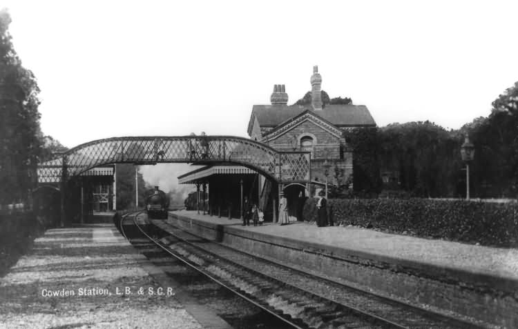 Cowden Station - 1920