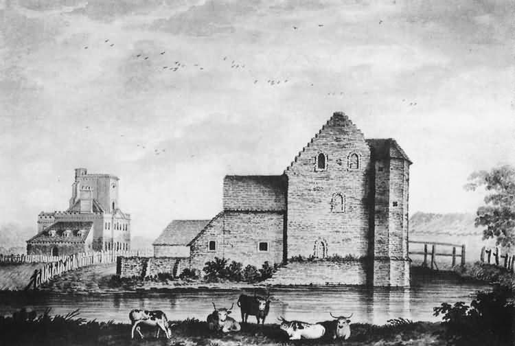 Laughton Place - c 1785