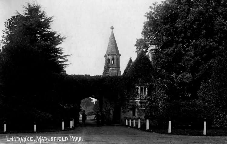 Entrance, Maresfield Park - 1915