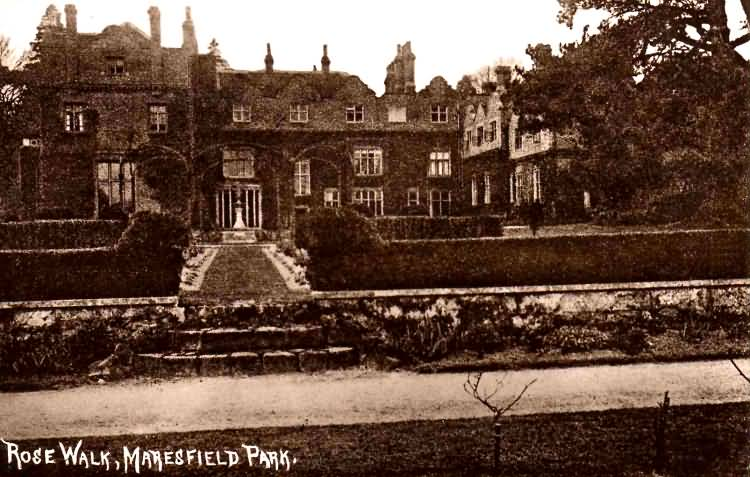 Rose Walk, Maresfield Park - 1915