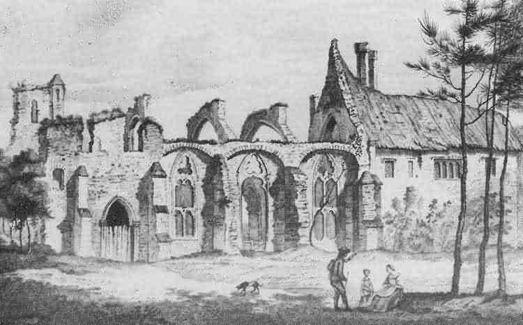 Mayfield Abbey - 1781