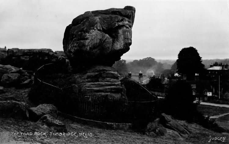The Toad Rock - 1909