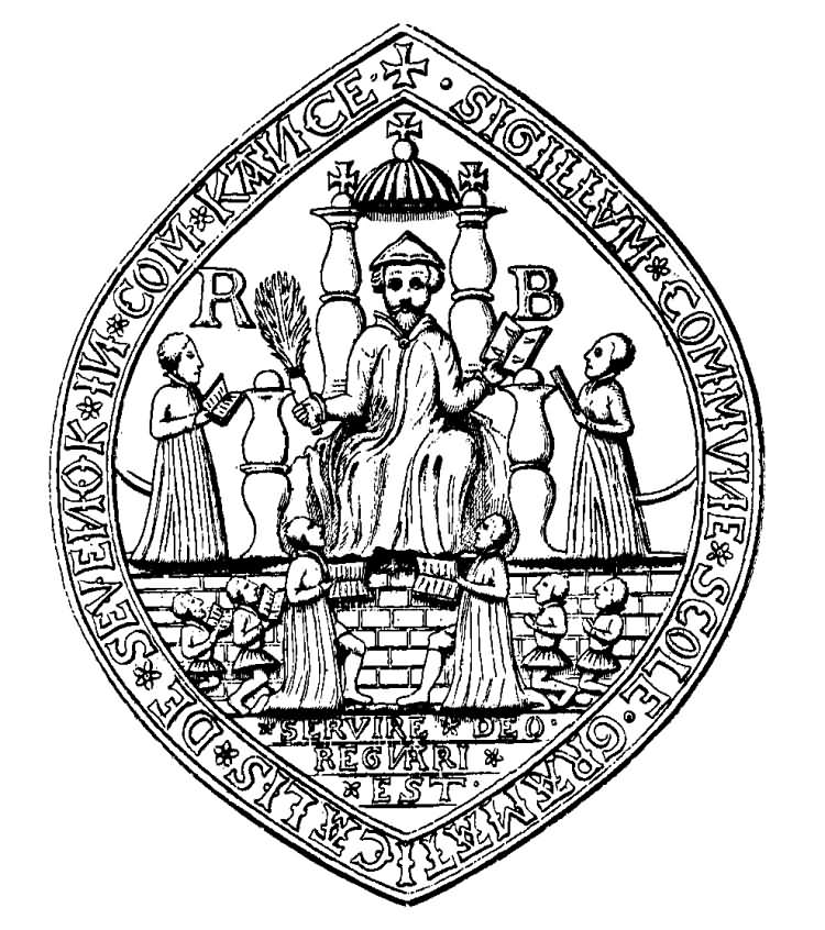 Seal of Sevenoaks Grammar School - 1910