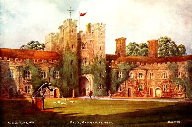 Green Court (West), Knole - 1902