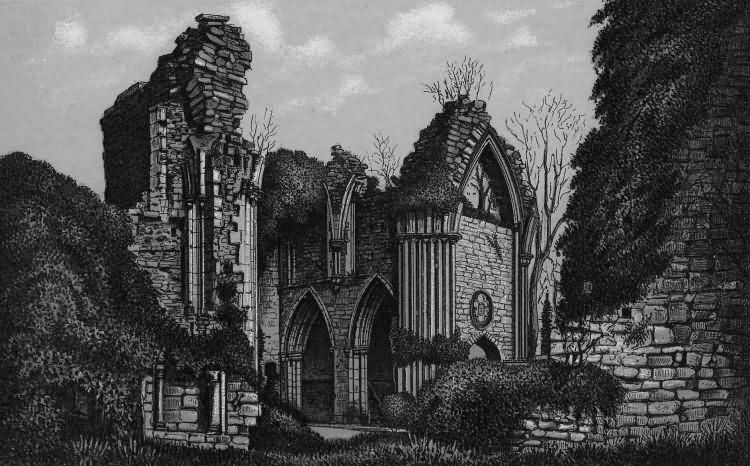 Bayham Abbey - 1889