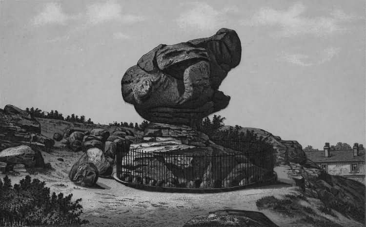 The Toad Rock - 1889