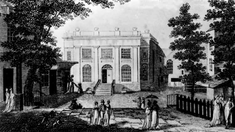 The Bath House - 1827