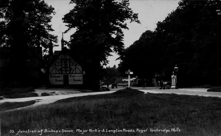 Junction of Bishops Down, Major Yorks & Langton Roads - 1915