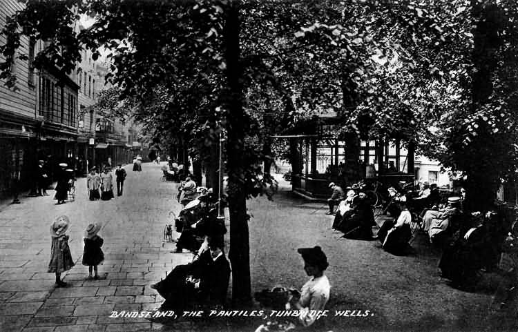Bandstand, The Pantiles - 1908