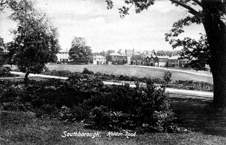 Holden Road, Southborough - 1905
