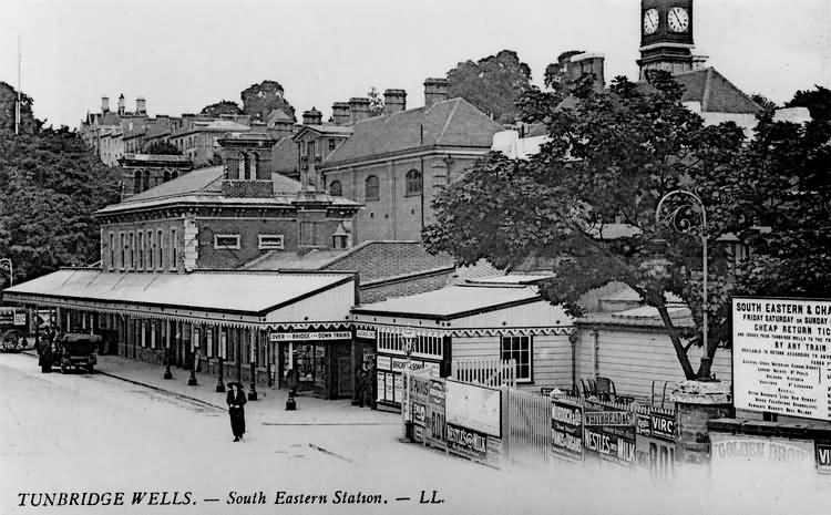 South Eastern Station - c 1920