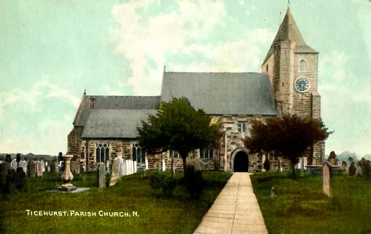 Ticehurst Parish Church - 1907
