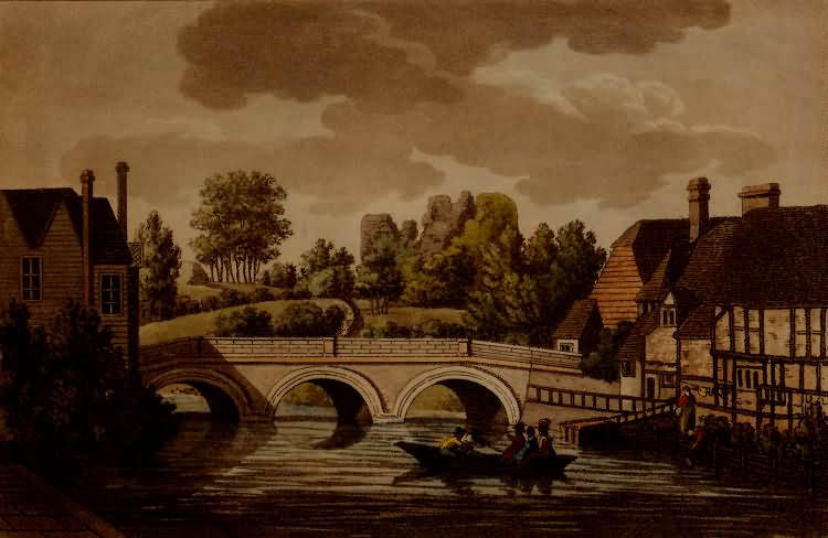 Tonbridge Bridge - c 1800