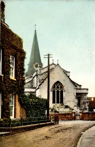 Uckfield Church - 1907