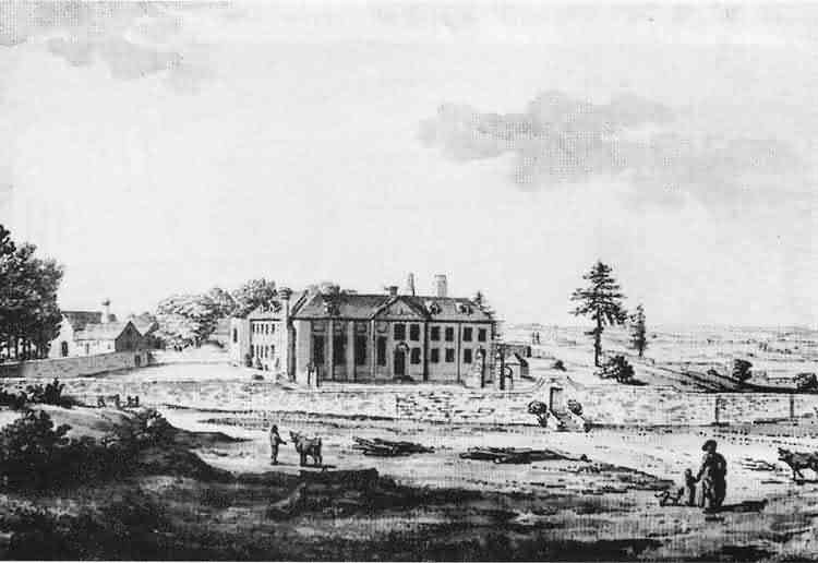 Horeham Manor - c 1780