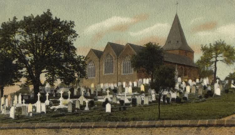 Westerham Church - 1905