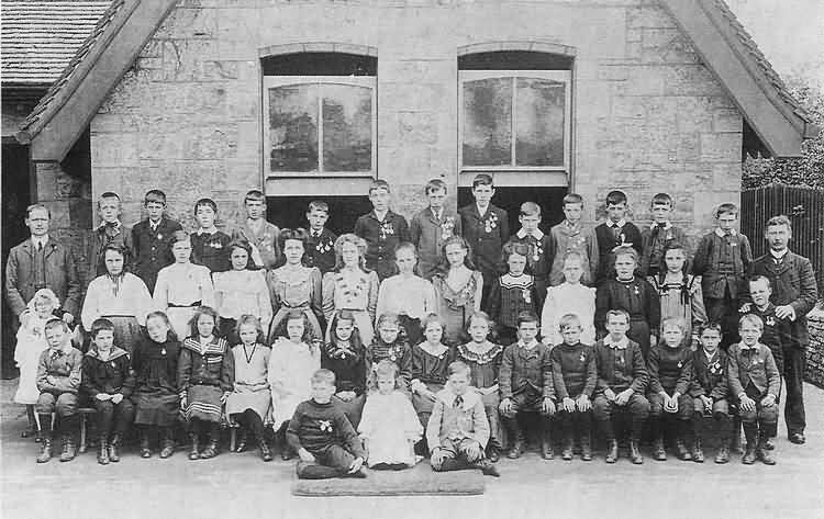 Fermor School - Attendance medalists in 1908/9 - 1908