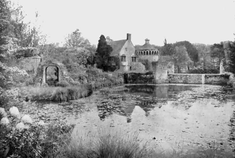 Scotney Castle - an enchanted setting - c 1930