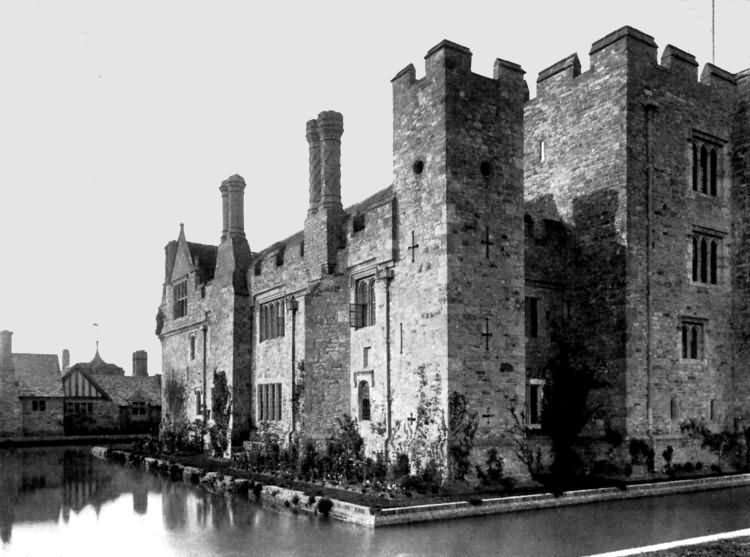 Hever Castle - from the west - c 1930