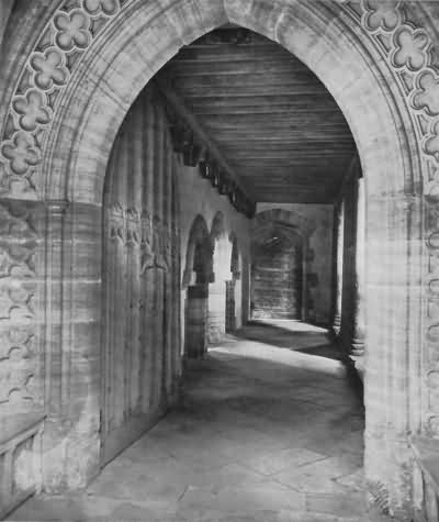 Penshurst - the porch - c 1930