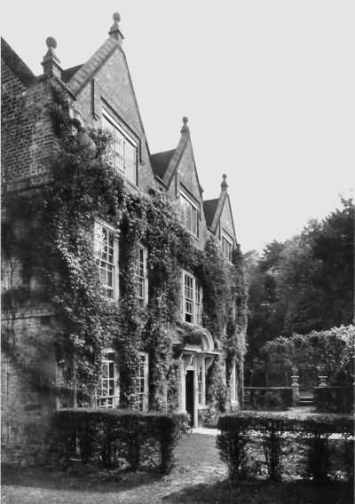 Quebec House, Westerham - General Wolfes boyhood home - c 1930