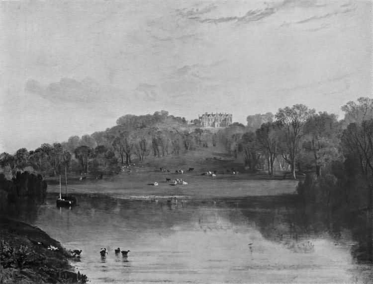 Somerhill - as painted by Turner in 1811 - 1811