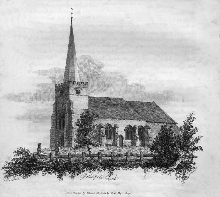 Rotherfield Church - 1809