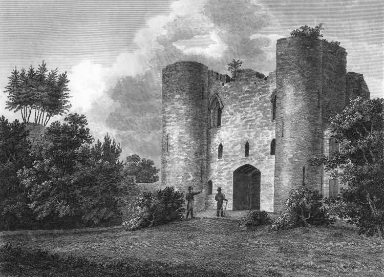 Tonbridge Castle - 1809