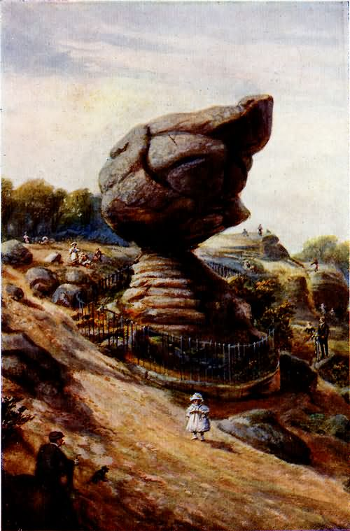 The Toad Rock - c 1890