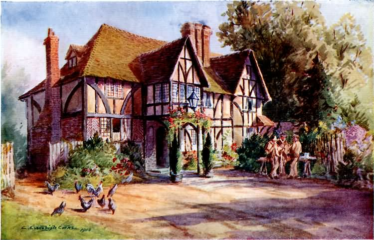 Speldhurst Old Inn - c 1900
